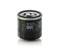 Сменный масляный фильтр смазочной системы W 67/2