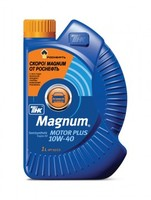 Масло моторное ТНК Magnum Motor Plus 10w40 SG/CD 4л п/с